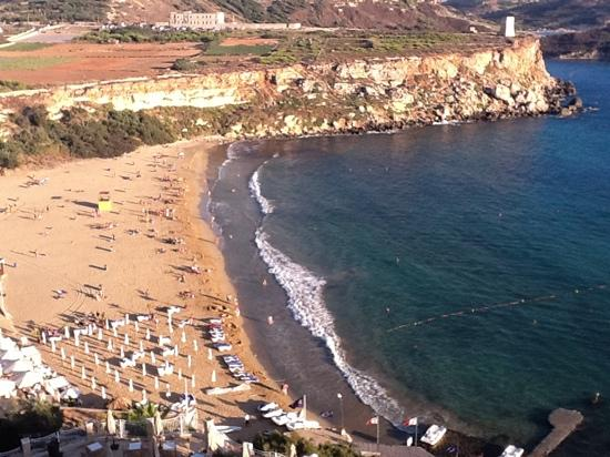 St. Paul's Bay, Malte : Golden Sands visto dal Radisson