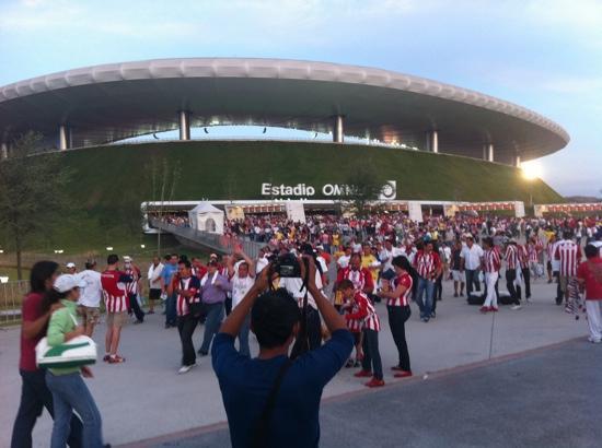 Estadio Omnilife: after a game
