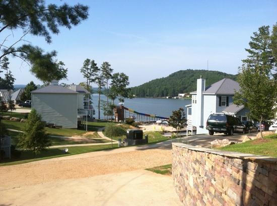 Chesnut Bay Resort : view of beach and slide from #15