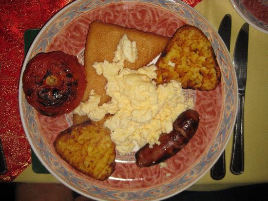 The Cherwood: leckeres Frühstück