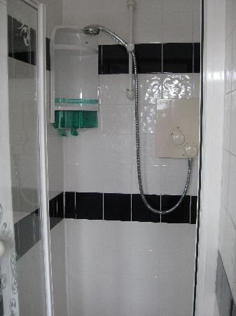 The Cherwood: Power-Shower oberer Teil
