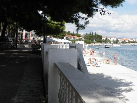 Hotel Jadran: la plage