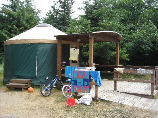 Cape Disappointment State Park: Yurt #83