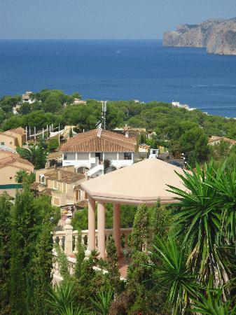 Palmira Isabela: vista dall'alto di santa ponsa
