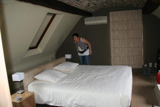 Les tanneurs de Namur: vue de la chambre