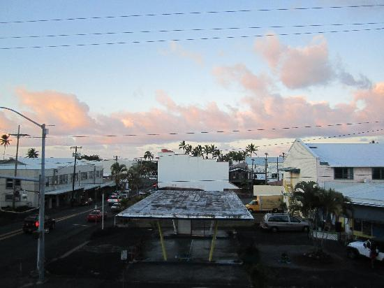 Hilo Bay Hostel : Looking out our window