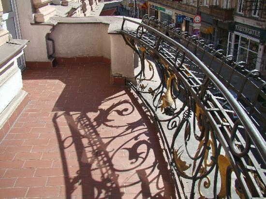 Hotel Pod Orlem: Balcony in our room