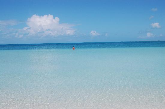 Sapodilla Bay: gorgeous beach and water