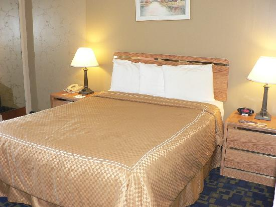 Rodeway Inn Casino Center : Bed