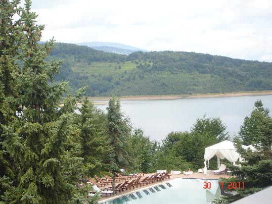 Mavrovo, Republika Macedonii: view from room