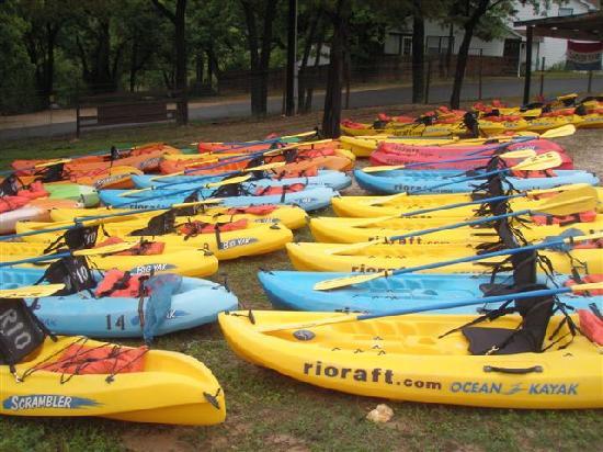 Rio Raft & Resort: Kayak Fleet