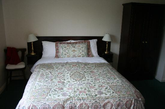 Denton B & B: La cama doble