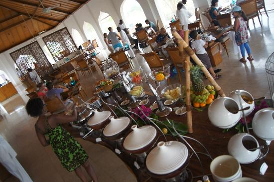 The Residence Zanzibar: Breakfast at The residence