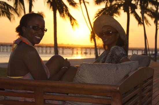 The Residence Zanzibar: sunset at the residence