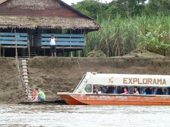 Amazon Explorama Lodges: High speed boats used to traverse the Amazon