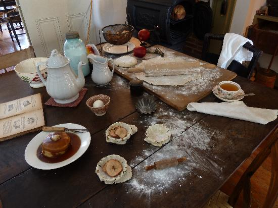 Shriver House Museum: Hettie Shriver's 1860 kitchen