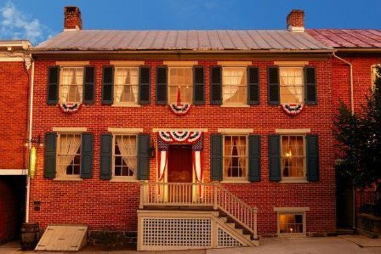 Shriver House Museum: Home of George & Hettie Shriver was built in 1860, just months before the Civil War began.