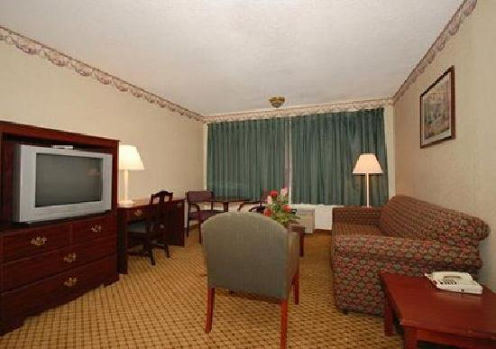 Quality Inn & Suites Southlake: living room