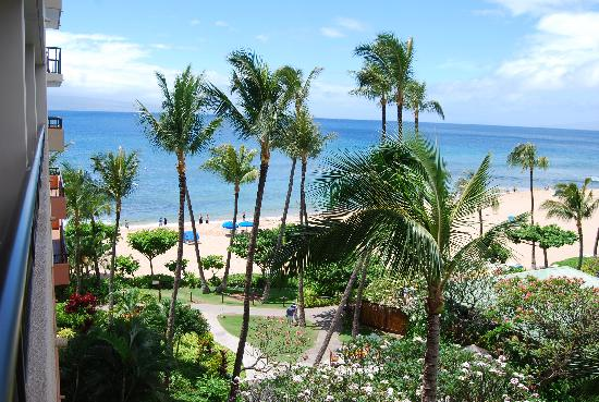 Marriott's Maui Ocean Club  - Lahaina & Napili Towers : view from our room