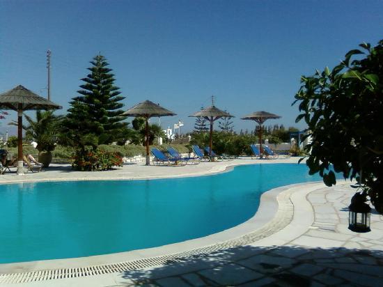 Fyrogenis Palace Hotel: une vue de la piscine