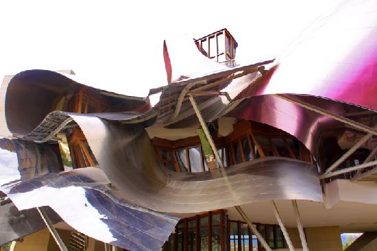 Hotel Marques de Riscal a Luxury Collection Hotel: Hotel Marqués de Riscal. Entrada