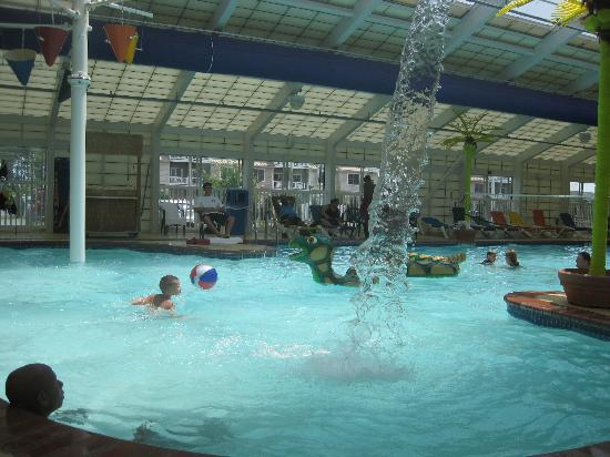 Indoor Pool Picture Of Francis Scott Key Family Resort Ocean City Tripadvisor