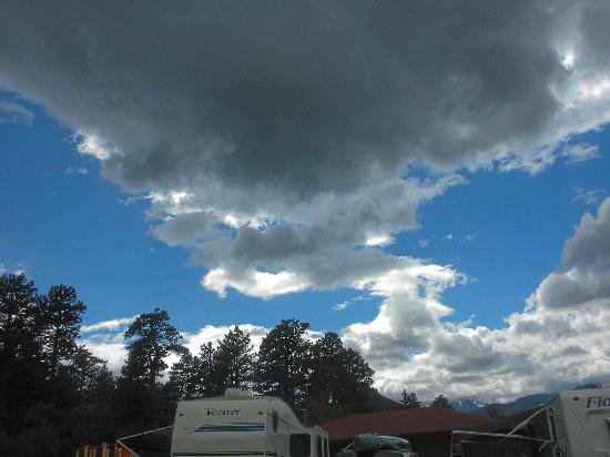 Spruce Lake RV Park: Approaching Storm