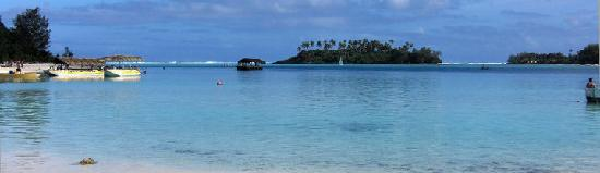 Pacific Resort Rarotonga: Step outside and this what you see