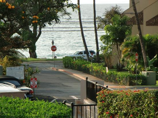 Kihei Alii Kai: view of the ocean from the lanai