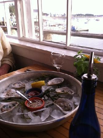 Islesford Dock Restaurant: try the oysters!