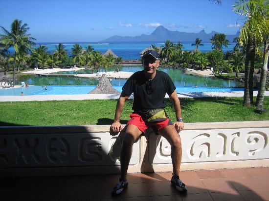 InterContinental Tahiti Resort & Spa: vistas desde el hotel a mooorea