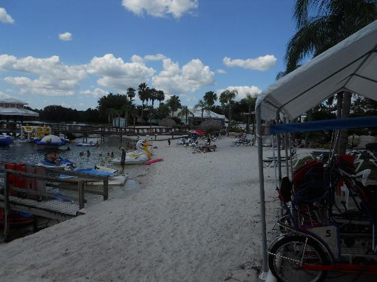 Summer Bay Orlando By Exploria Resorts: view of the beach