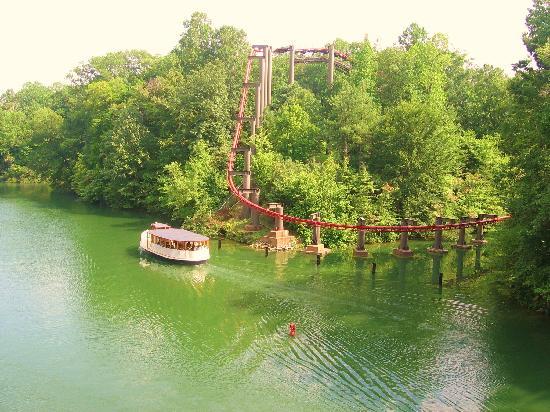 Griffon Roller Coaster - Picture of Busch Gardens Williamsburg ...