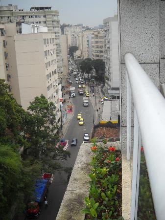 Scorial Rio Hotel: Vista desde la terraza