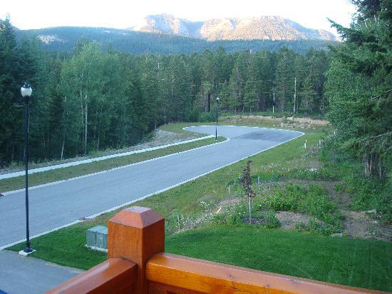 Canyon Ridge Lodge: Vista da varanda da suíte