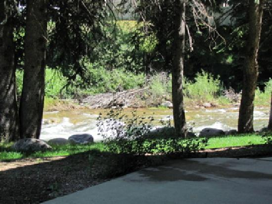VRI Streamside at Vail - Aspen: View from our door