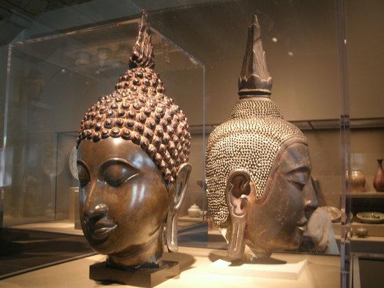 Asian Art Museum : Balinese head sculpture