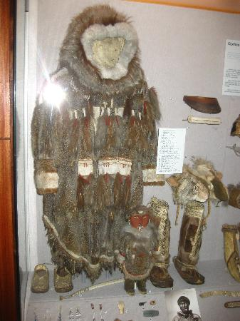 Alaska State Museum: Somehow, you realize this is not just another costume.