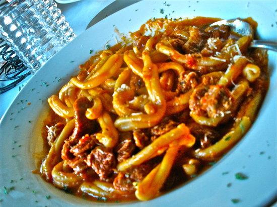 Pizzico Restaurant: Strozzapreti with Spicy Lamb Sausage