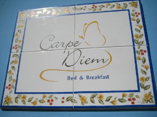 Carpe Diem Bed & Breakfast: Look carefully, this isn't obvious!