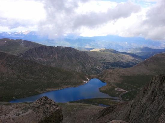 taken at the top of Mount Evans