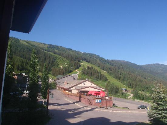 Whitefish Mountain Resort Lodging: view from our room