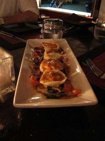 Barracuda Restaurant : the tortellini appetizer