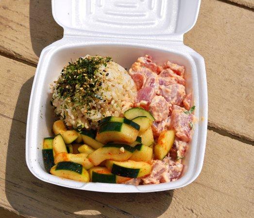Da Poke Shack: Lunch Plate