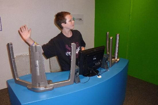 IDEA Museum: Beamz sound wave machine