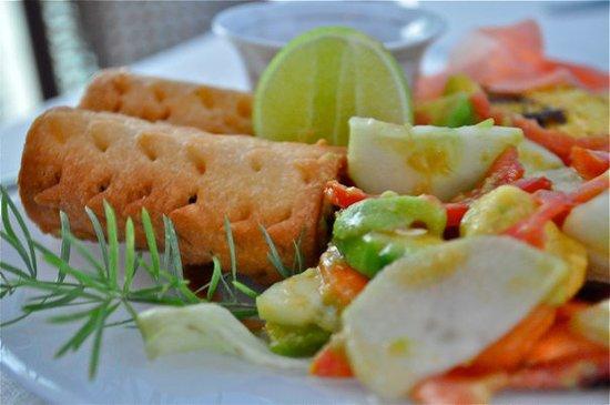 Emerson Spice: Ceviche & Fish Kingrolls