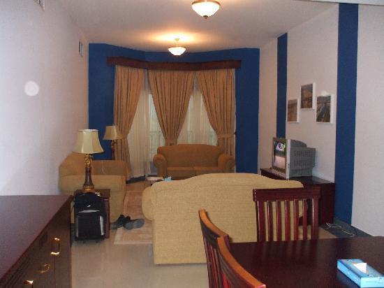 Karan Hotel : Living room