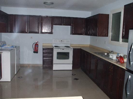 Al Jubail, Saoedi-Arabië: Kitchen area