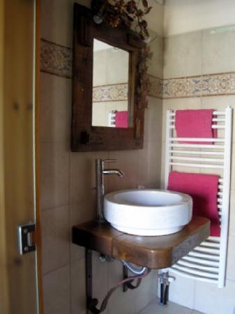 Mystras, Grecja: Great bathroom!