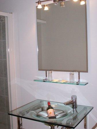 Monticello, France: salle de bain